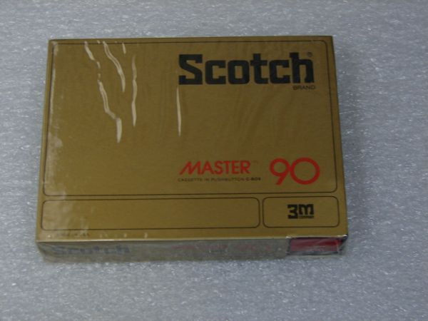 Аудиокассета Scotch Master 90 (US) (1977 - 1979 г.)