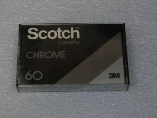 Аудиокассета Scotch Chrome 60 (EU) (1979 - 1981 г.)