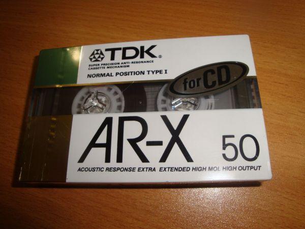 Аудиокассета TDK AR-X 50 (Японский рынок)