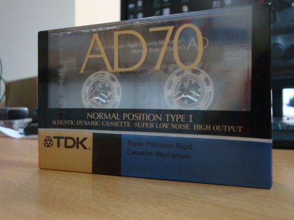 Аудиокассета TDK AD 70 (Японский рынок) (1988-1989г.)