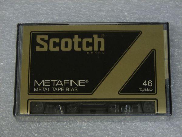 Аудиокассета Scotch Metafine 46 (US) (1979 - 1981 г.)