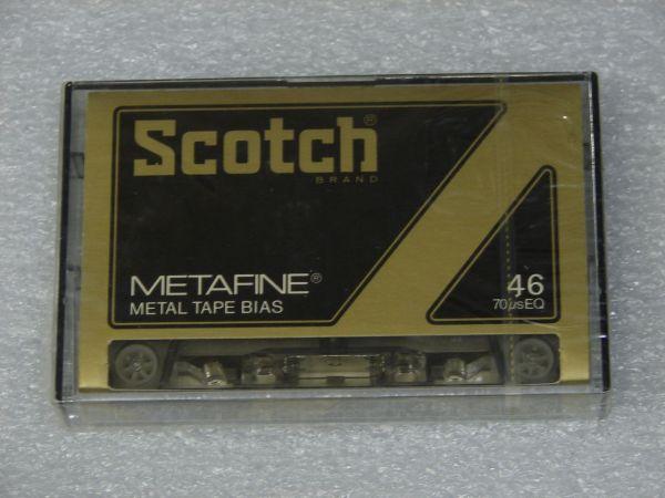 Аудиокассета Scotch Metafine 46 (JP) (1979 - 1981 г.)