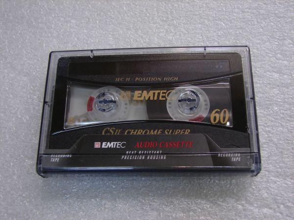 Аудиокассета Emtec CS II Chrome Super 60 (EU)