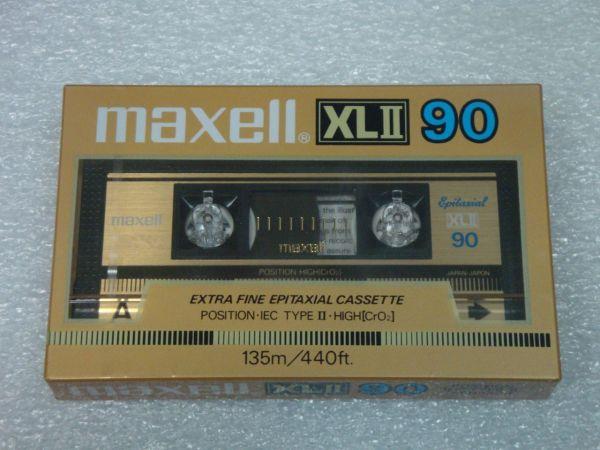 Аудиокассета Maxell XLII 90 (EU) (1985 - 1986 г.)