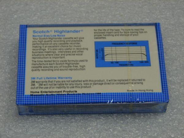 Аудиокассета Scotch Highlander 60 (Asia)