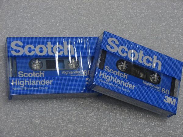 Аудиокассета Scotch Highlander 60 (US)
