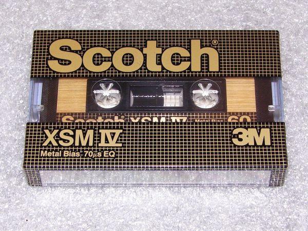Аудиокассета Scotch XSMIV 60 (US) (1982 - 1986 г.)