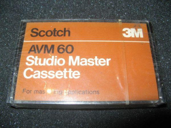 Аудиокассета Scotch AVM 60